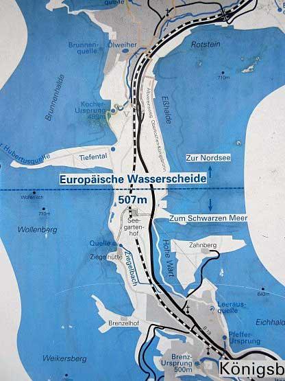 Europäische Wasserscheide