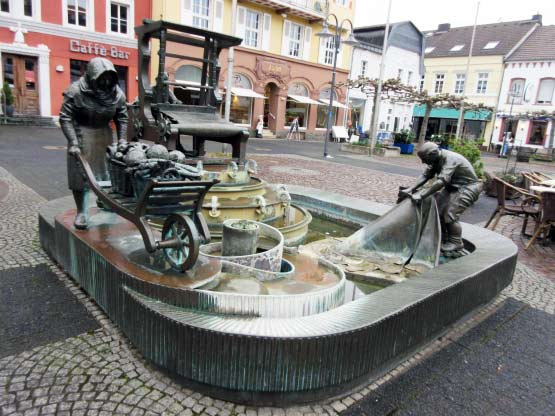 Brunnen auf dem Marktplatz