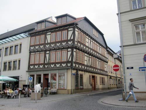 Fachwerkhaus am Marktplatz in Eisenach