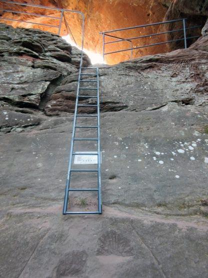 Felsen-Leiter