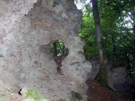 Felsenfenster Lava