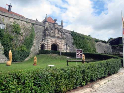 Letzter Aufstieg zur Burg