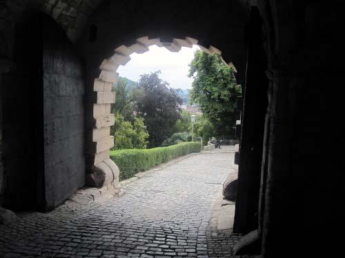 Eingangstor zur Festung