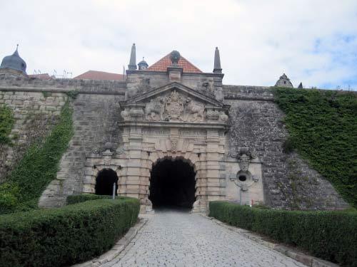 Rückblick auf die Festung