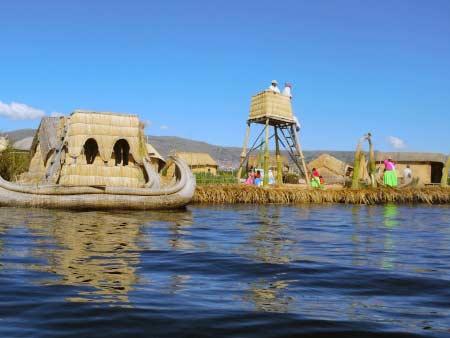 Isla flotantes