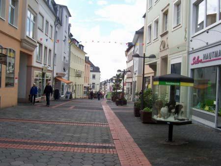 Fussgängerzone Bitburg