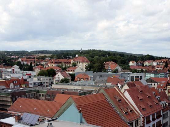 Blick über die Stadt Gotha
