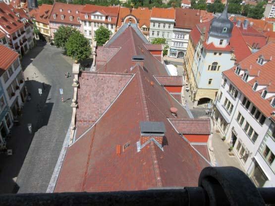 Dächer des Rathauses