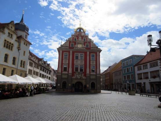 Marktplatz mit Rathaus Gotha