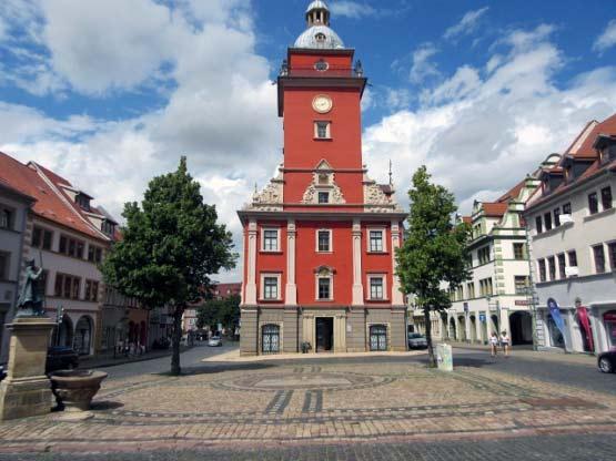Der Rathausturm von Gotha