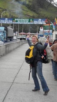 das nächste Land: Ecuador!!! Jeah!!!