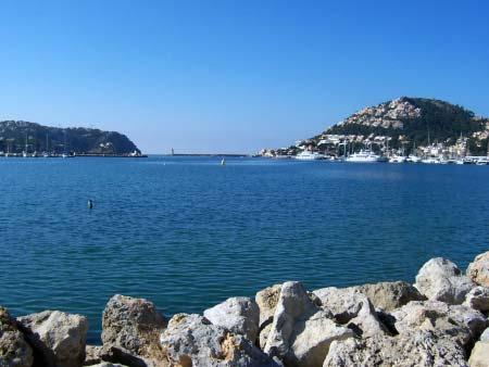 Hafeneinfahrt Puerto Andraitx