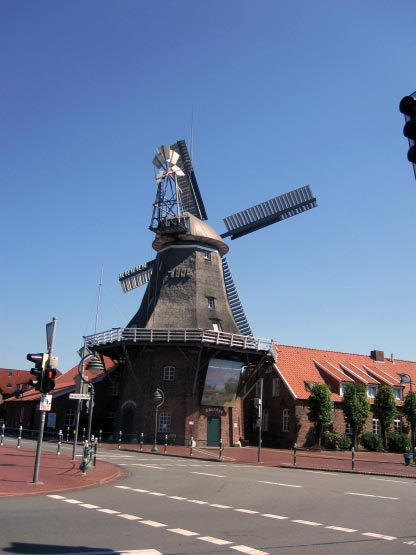 Holländermühle mit Umlauf