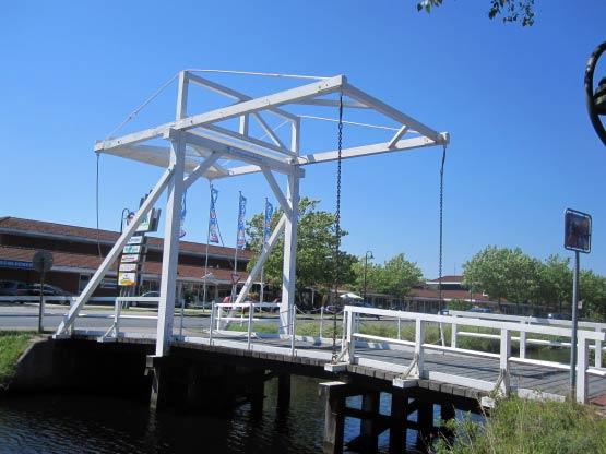 Holländische Klappbrücke