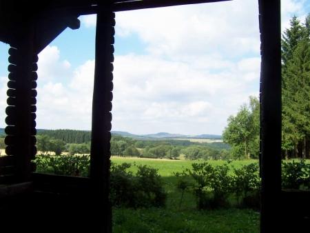 Holzpavillon Eifel