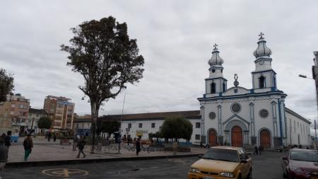 Hauptplatz in Ipiales
