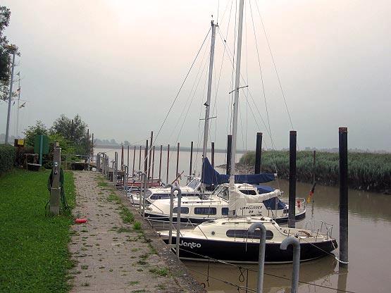 Jemgum Bootshafen Ems