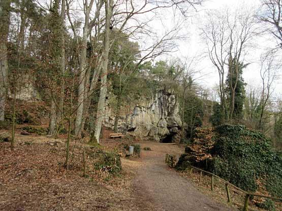 Zugang zur Kakushöhle