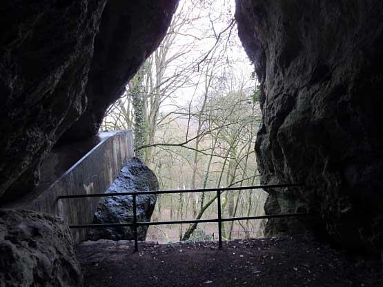 Seitenfenster der Kleinen Höhle