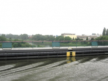 Kanal über Weser