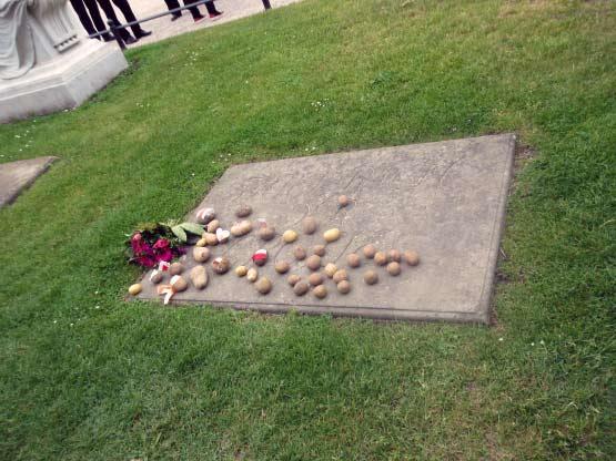 Kartoffeln für Friedrich