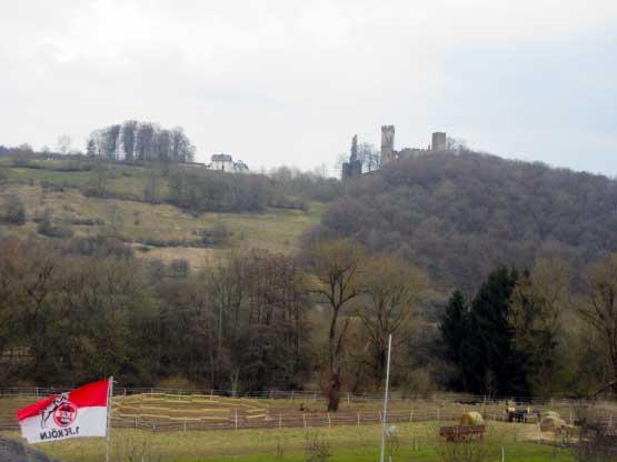 Die Kasselburg über Pelm