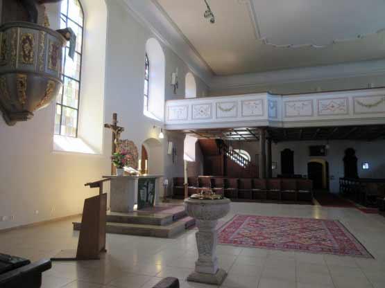 In der Kirche Steinheim