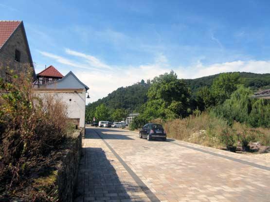 Klingenmünster mit Burg Landeck
