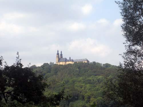 Immer im Blick: Kloster Banz