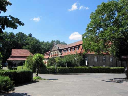 Das Kloster in Klosterlangheim