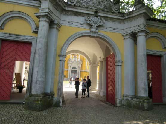 Das Klostereingangstor - Kloster Neuzelle
