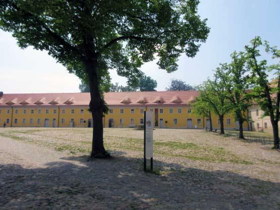 Der Klosterhof - Kloster Neuzelle