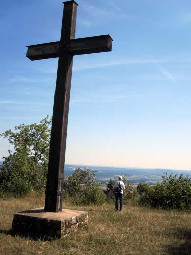Gipfelkreuz auf dem Kordigast