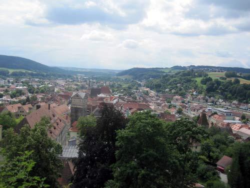 Die Altstadt von oben