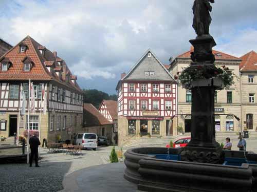 Brunnen in der Oberen Altstadt