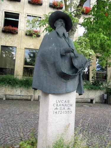 """""""Lucas Cranach"""", ein Sohn der Stadt Kronach"""