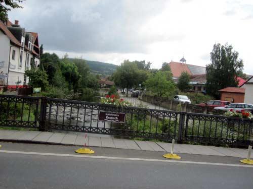 Spitalbrücke über die Rodach