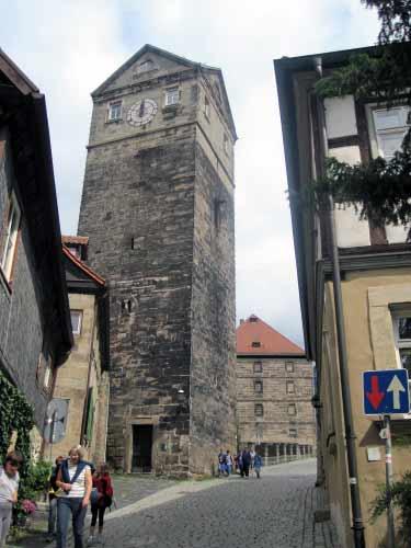 Alter Stadtturm und JVA