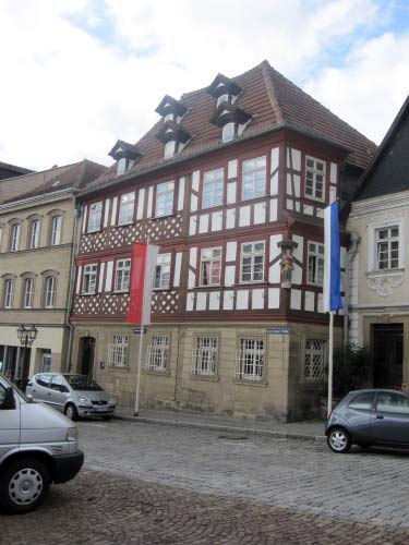 Stipendienhaus in der Lucas-Cranach-Straße