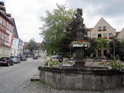 Mehrere Brunnen