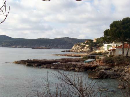 Kueste san Telmo Mallorca