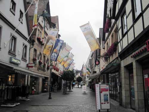 Fußgängerzone Langgasse