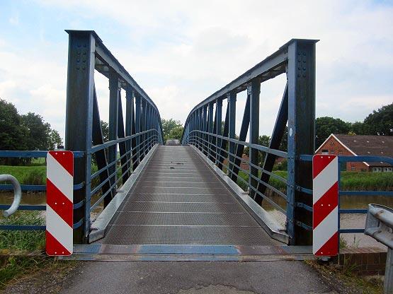 Die schmalste Autobrücke Deutschlands