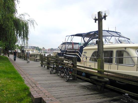 Leer Hafenpromenade