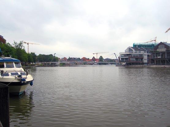 Nessebrücke Leer