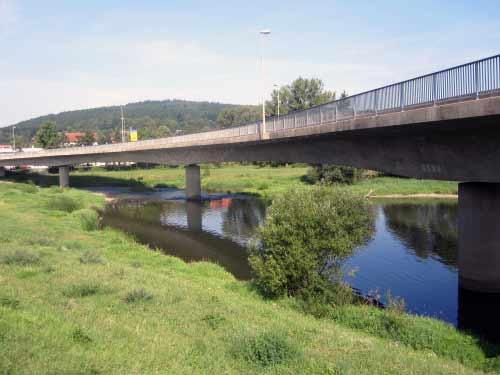Mainbrücke in Lichtenfels