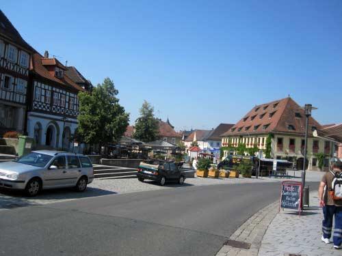 Marktplatz Rathaus Lichtenfels