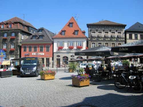 Lichtenfels Marktplatz