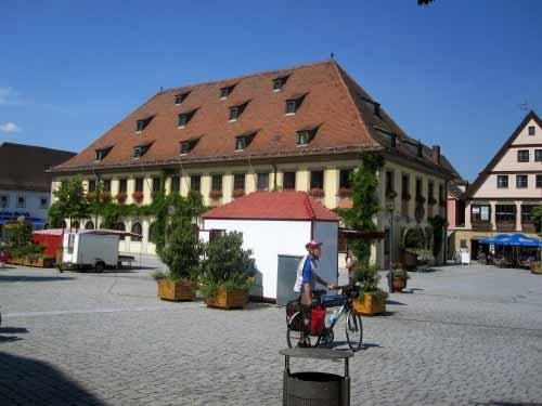 Stadtverwaltung im Rathaus