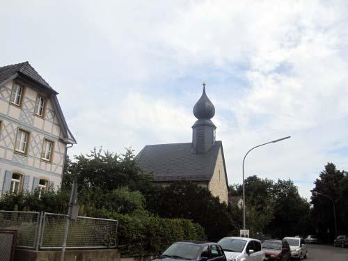 Loffeld - Kirche mit Zwiebelturm